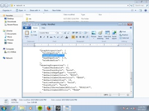 wordpad screenshot